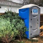 Туалетная кабина - биотуалет 0733