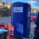 Туалетная кабина - биотуалет 0757