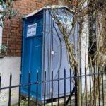 Туалетная кабина - биотуалет 0761