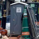 Туалетная кабина - биотуалет 0772