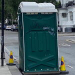 Туалетная кабина - биотуалет 0781