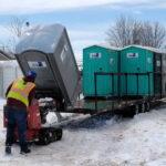 Туалетная кабина - биотуалет 0787
