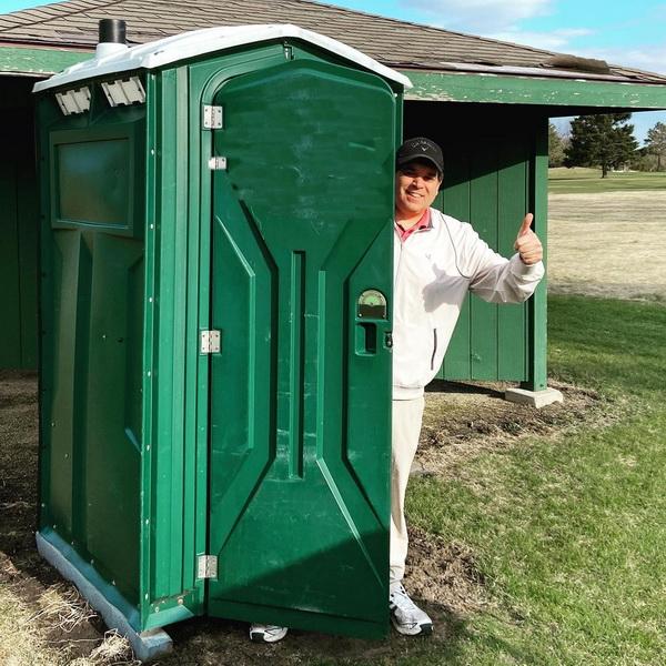 Туалетная кабина - биотуалет 0811