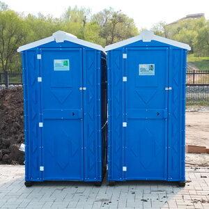 Туалетная кабина биотуалет для дачи 003