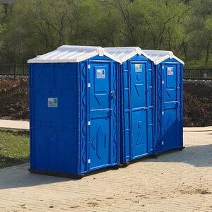 Туалетная кабина биотуалет для дачи 004