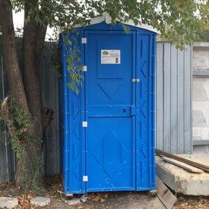 Туалетная кабина биотуалет для дачи 005