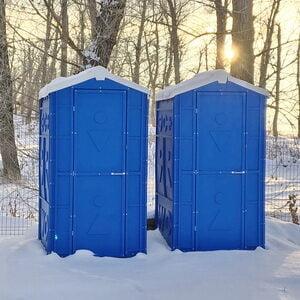 Туалетная кабина биотуалет для дачи 006