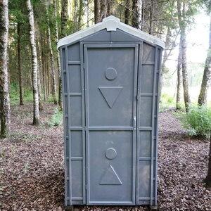 Туалетная кабина биотуалет для дачи 008