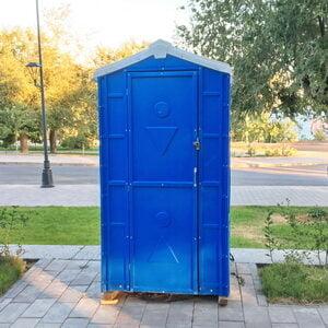 Туалетная кабина биотуалет для дачи 009
