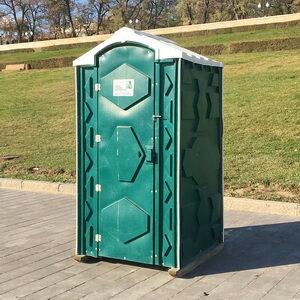 Туалетная кабина биотуалет для дачи 011