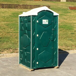 Туалетная кабина биотуалет для дачи 012