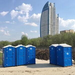 Туалетная кабина биотуалет недорогой 008