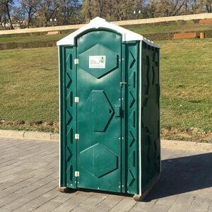 Туалетная кабина биотуалет недорогой 012