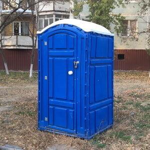 Туалетная кабина биотуалет недорогой 014