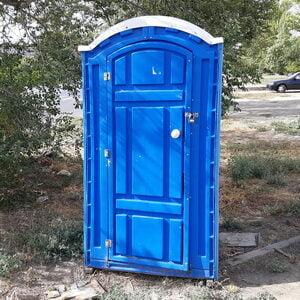 Туалетная кабина биотуалет недорогой 015