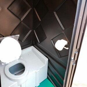 Туалетная кабина биотуалет недорогой 018