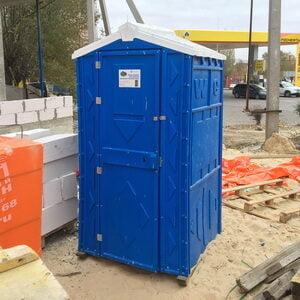 Туалетная кабина на стройку 002