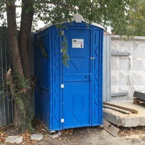 Туалетная кабина на стройку 003