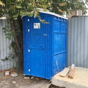 Туалетная кабина на стройку 004