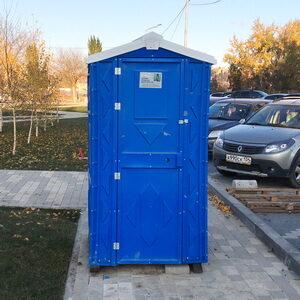 Туалетная кабина на стройку 006