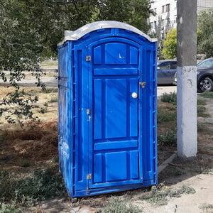Туалетная кабина на стройку 007