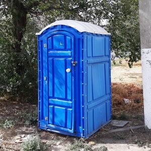 Туалетная кабина на стройку 008