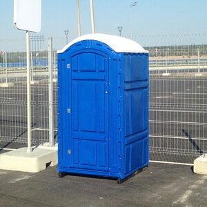 Туалетная кабина на стройку 009