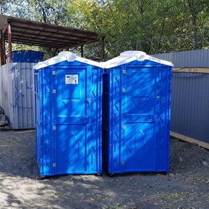 Туалетная кабина на стройку 011