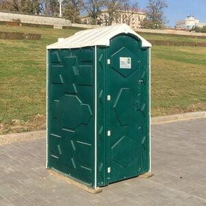 Туалетная кабина на стройку 012