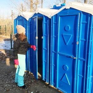Туалетная кабина на стройку 013