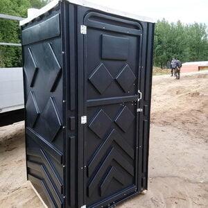 Туалетная кабина на стройку 017