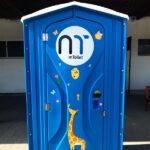 Туалетная кабина - биотуалет 0401