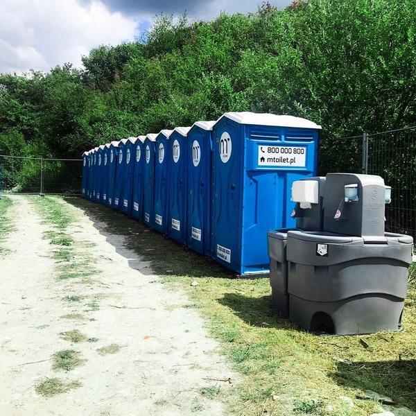 Туалетная кабина - биотуалет 0437