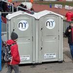 Туалетная кабина - биотуалет 0456