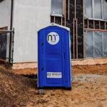Туалетная кабина - биотуалет 0457