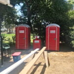 Туалетная кабина - биотуалет 0476