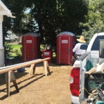 Туалетная кабина - биотуалет 0477