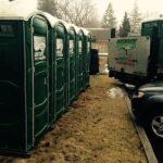 Туалетная кабина - биотуалет 0488