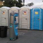 Туалетная кабина - биотуалет 0534
