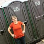 Туалетная кабина - биотуалет 0544