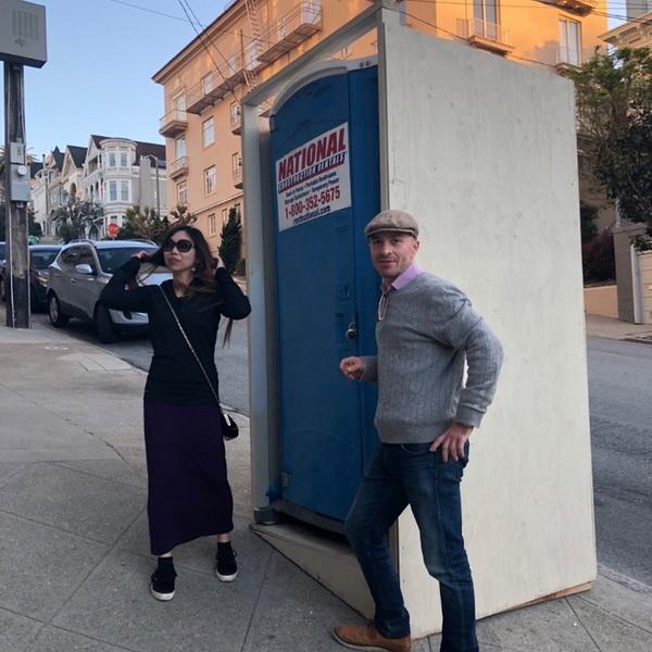 Туалетная кабина - биотуалет 0563