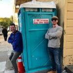 Туалетная кабина - биотуалет 0565