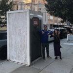 Туалетная кабина - биотуалет 0570