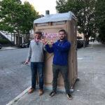 Туалетная кабина - биотуалет 0575