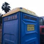 Туалетная кабина - биотуалет 0598