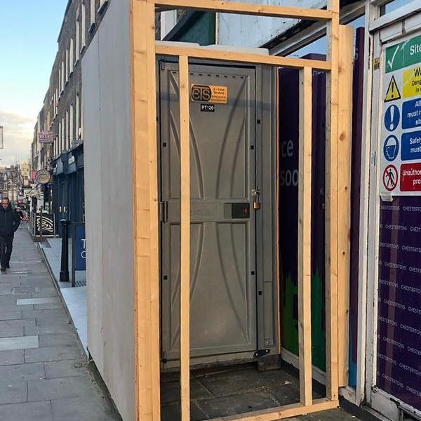 Туалетная кабина - биотуалет 0660