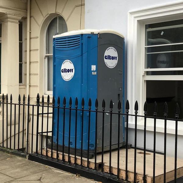 Туалетная кабина - биотуалет 0661