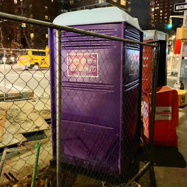 Туалетная кабина - биотуалет 0669