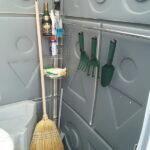 Туалетная кабина Комфорт на дачу 001