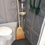 Туалетная кабина Комфорт на дачу 003